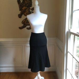 DIANE VON FURSTENBERG Wool Midi Classic Skirt EUC